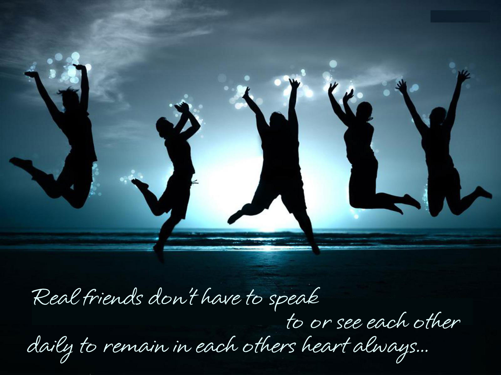 Si totusi exista prieteni adevarati printre noi