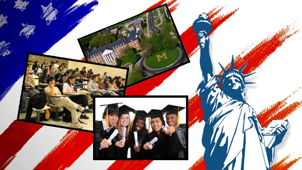 Cum poti merge la studii in America